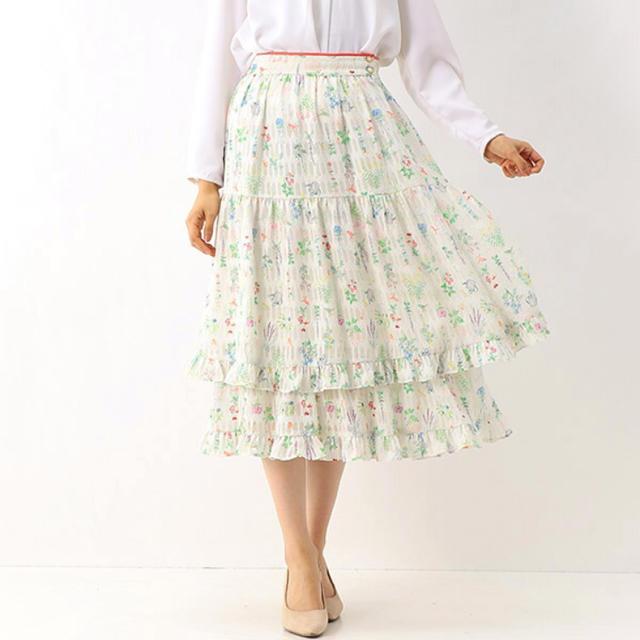 franche lippee(フランシュリッペ)の新品 フランシュリッペ  ガーデニング スカート  レディースのスカート(ロングスカート)の商品写真