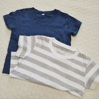 MUJI (無印良品) - 無印良品ベビー Tシャツ2枚セット80