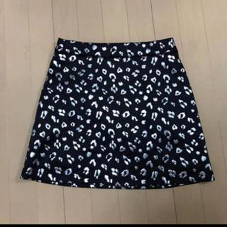 バブルス(Bubbles)のBUBBLES  レオパード台形スカート(ミニスカート)
