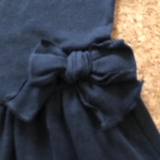 PETIT BATEAU(プチバトー)のKKM様専用です♡プチバトー  ワンピース 128 ♡ キッズ/ベビー/マタニティのキッズ服女の子用(90cm~)(ワンピース)の商品写真