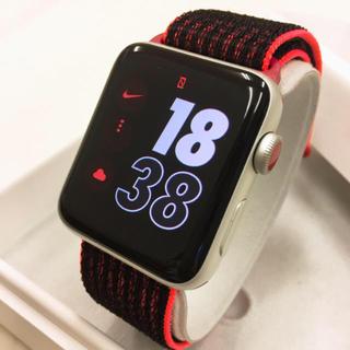 アップルウォッチ(Apple Watch)のピーピー様専用 Apple Watch series3 NIKE+  42mm(その他)