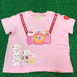 ミキハウス(mikihouse)のミキハウス カメラ アップリケ ワッペン 豪華Tシャツ 80サイズ(Tシャツ)