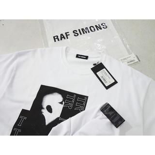 ラフシモンズ(RAF SIMONS)の新品 定価45000円 RAF SIMONS 19SS プリントTシャツ 白(Tシャツ/カットソー(半袖/袖なし))