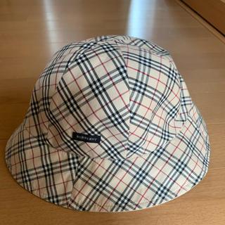 バーバリー(BURBERRY)のバーバリー リバーシブル帽子(帽子)