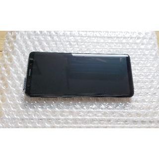 サムスン(SAMSUNG)の美品 docomo Galaxy S9 SC-02K 黒色 SIMロック解除済み(スマートフォン本体)