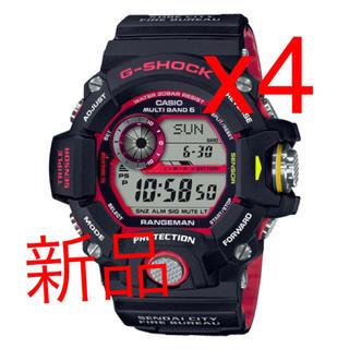 ジーショック(G-SHOCK)のG-SHOCK GW-9400NFST-1AJR 緊急消防援助隊コラボモデル(腕時計(デジタル))