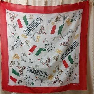 モスキーノ(MOSCHINO)のMOSCHINO  大判スカーフ(バンダナ/スカーフ)
