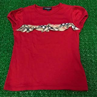 バーバリー(BURBERRY)の美品 Burberry バーバリー 山陽商会 半袖カットソー ノバチェック(Tシャツ/カットソー)
