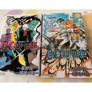 シュウエイシャ(集英社)のD.Gray-man(ディー・グレイマン)reverse 1・2(少年漫画)