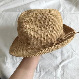ローズバッド(ROSE BUD)のROSE BUD 麦わら帽子 ストローハット(麦わら帽子/ストローハット)