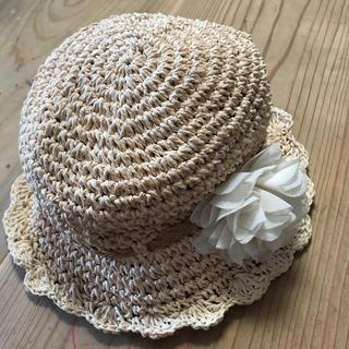 HusHush - ハッシュアッシュ 麦わら帽子 50センチ