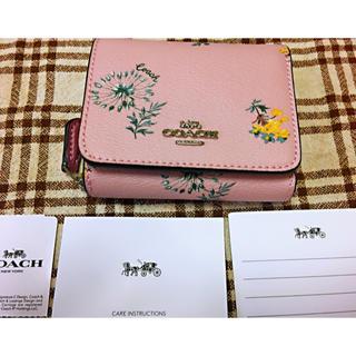 COACH - 新品未使用COACHコーチ三つ折りお財布
