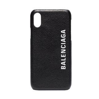 バレンシアガ(Balenciaga)の【最安値】バレンシアガ アイフォンX.XSカバー ブラック(iPhoneケース)