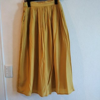 Techichi - 値下げ! テチチ 黄色のギャザーロングスカートMサイズ