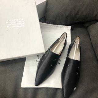 マルタンマルジェラ(Maison Martin Margiela)のメゾンマルジェラ ポインテッド トゥ レザー ローファー(ローファー/革靴)