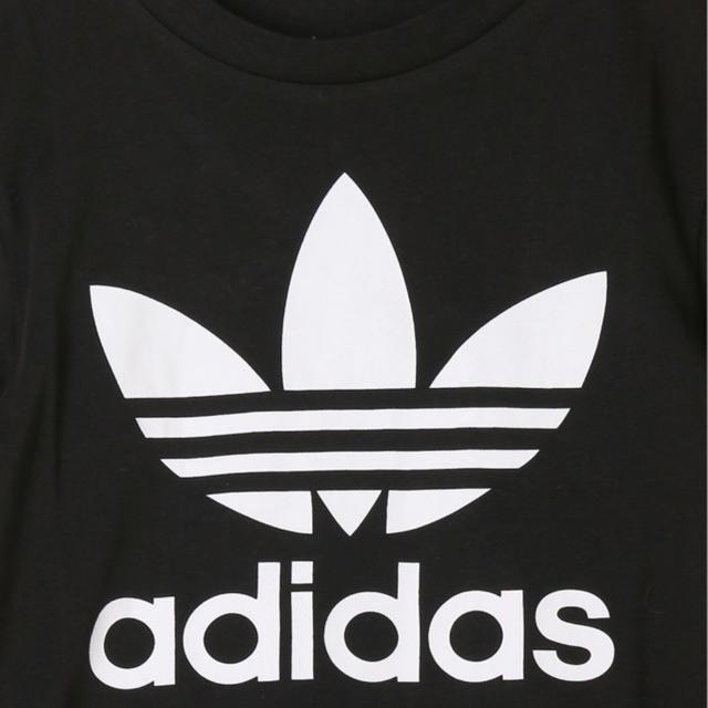 adidas(アディダス)の【新品】adidas アディダス トレフォイル Tシャツ 130 キッズ/ベビー/マタニティのキッズ服男の子用(90cm~)(Tシャツ/カットソー)の商品写真