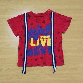 エックスガール(X-girl)の90cmTシャツ(Tシャツ/カットソー)