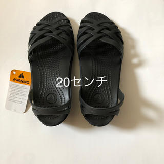crocs - 新品 クロックス サンダル 20センチ