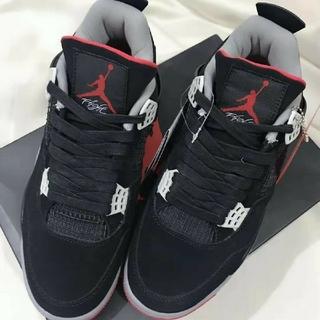 NIKE - NIKE Air Jordan 4 RETRO ブラック 27cm black