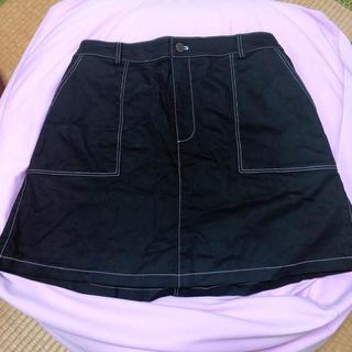 プニュズ(PUNYUS)のPUNYUS★スカート ブラック(ミニスカート)