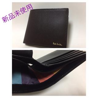 ポールスミス(Paul Smith)のブラウン 2つ折り財布PaulSmith新品未使用(折り財布)