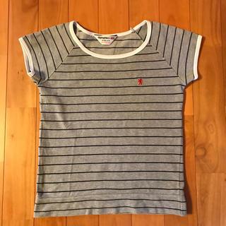 ジムフレックス(GYMPHLEX)のジムフレックス ボーダー カットソー(Tシャツ(半袖/袖なし))