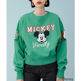 moussy - MICKEY VARSITY プルオーバー