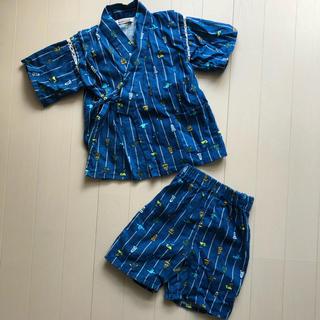 ブランシェス(Branshes)のセール!Branshes 甚平 男の子 浴衣 上下セット セパレート 90(甚平/浴衣)