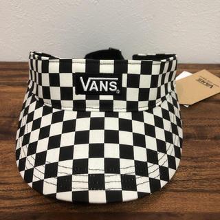 VANS - 半額以下! ¥4180 vans チェッカーフラッグ 定番チェック柄サンバイザー