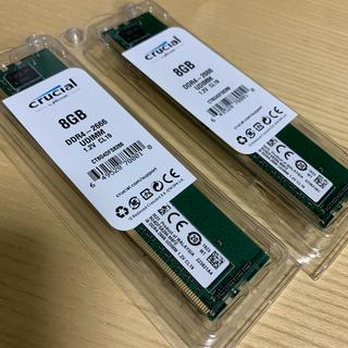 デスクトップメモリー DDR4-2666 8GB*2 CT8G4DFS8266
