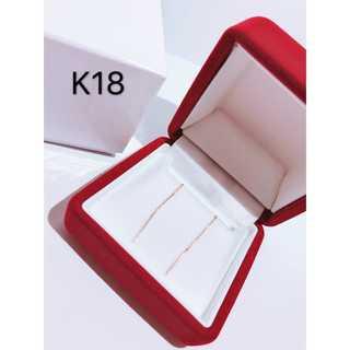 K18 18金 アメリカンピアス