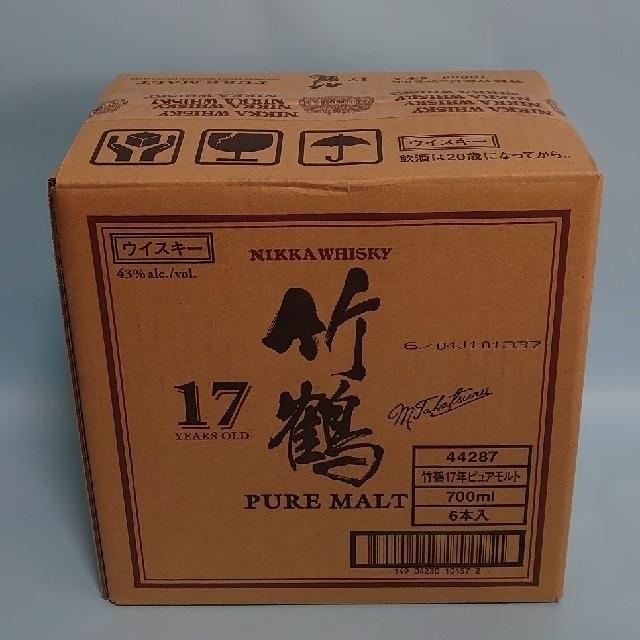 ニッカウヰスキー(ニッカウイスキー)の竹鶴17年 食品/飲料/酒の酒(ウイスキー)の商品写真