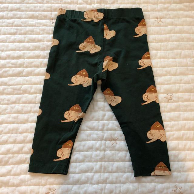 こどもビームス(コドモビームス)のtinycottons ゾウ柄 レギンス  キッズ/ベビー/マタニティのベビー服(~85cm)(パンツ)の商品写真