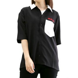 ミルクフェド(MILKFED.)のMILKFED.   ボーリングシャツ(シャツ/ブラウス(半袖/袖なし))