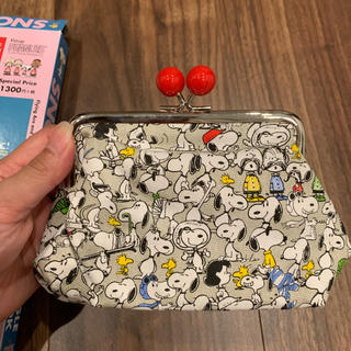 SNOOPY - SNOOPY SUPER BEAGLE POUCH BOOK ポーチ がま口