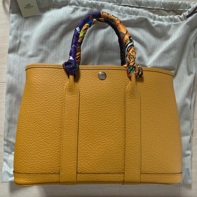 Hermes(エルメス)のエルメス ガーデンパーティ 国内購入 レディースのバッグ(ハンドバッグ)の商品写真