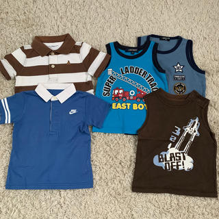 ベビーギャップ(babyGAP)の5点まとめ売り 90cm(Tシャツ/カットソー)