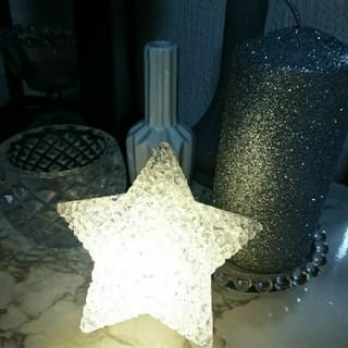 フランフラン(Francfranc)のスター星型星形ルームライトランプ(フロアスタンド)