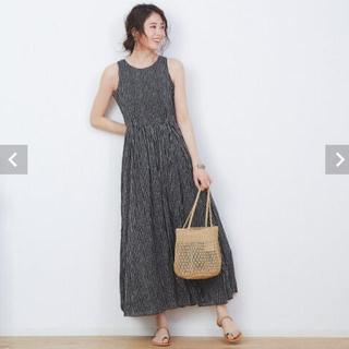 BEAMS - MARIHA  夏のレディドレス 36サイズ 黒 ドット