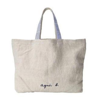 agnes b. - 【新品】agnes b. アニエスベー リネン トートバッグ