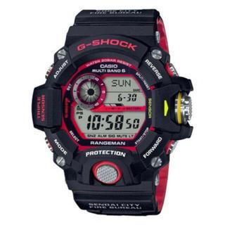 ジーショック(G-SHOCK)のG-SHOCK GW-9400NFST-1AJR 緊急消防援助隊 コラボ(腕時計(デジタル))