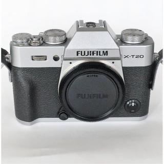 富士フイルム - 極美品 FUJIFILM X-T20ボディ (シルバー)