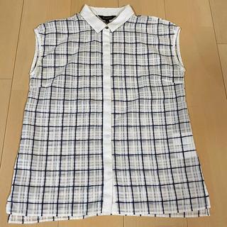 デミルクスビームス(Demi-Luxe BEAMS)の値下げ ノースリーブ シャツ(シャツ/ブラウス(半袖/袖なし))