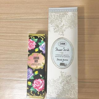 アナスイ(ANNA SUI)のサボン シャワースクラブ アナスイ ミスト 化粧水(化粧水/ローション)