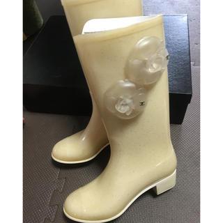 シャネル(CHANEL)のシャネル レインブーツ(レインブーツ/長靴)