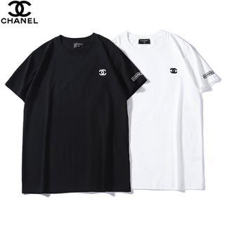 CHANEL - ✨2枚8千円刺繍ロゴシャネル半袖Tシャツ★CHANELユニセックス#02