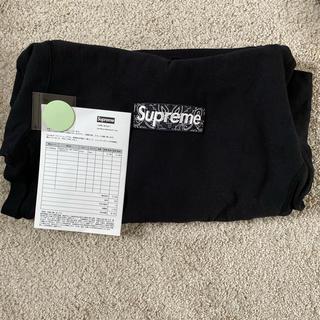 シュプリーム(Supreme)の19aw supreme bandana box logo (パーカー)