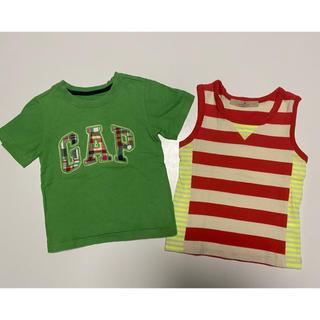 ベビーギャップ(babyGAP)のbaby gap&GLOBAL WORK⭐︎トップス2点セット⭐︎(Tシャツ/カットソー)