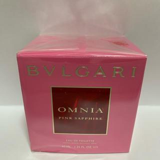 ブルガリ(BVLGARI)のブルガリ オムニア ピンクサファイア オードトワレ  40mL(香水(女性用))