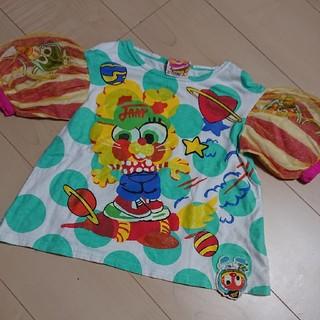 ジャム(JAM)のjam 女の子 Tシャツ 100 パフスリーブ ジャム(Tシャツ/カットソー)